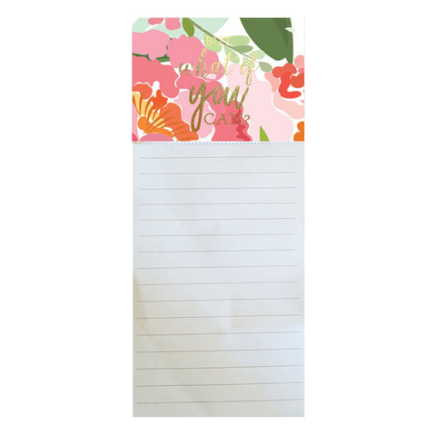 Magnetic Notepad Mary Square (seven  choices)