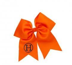 Monogrammable Hair Bow