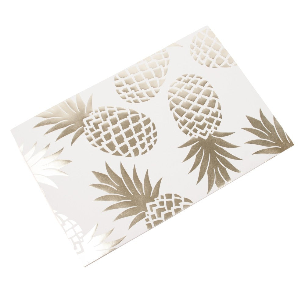 Paper Pineapple Placemats - set of 25