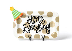 Happy Everything Rectangle Platter with One Attachment (Two Styles)