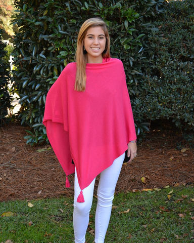 Tassel Poncho (4 Colors)