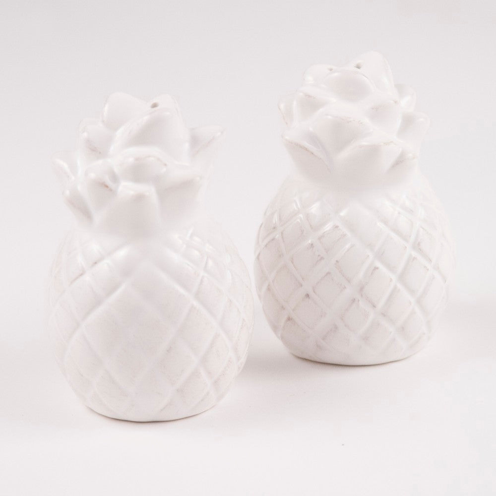 Salt and Pepper Shakers - Pineapple