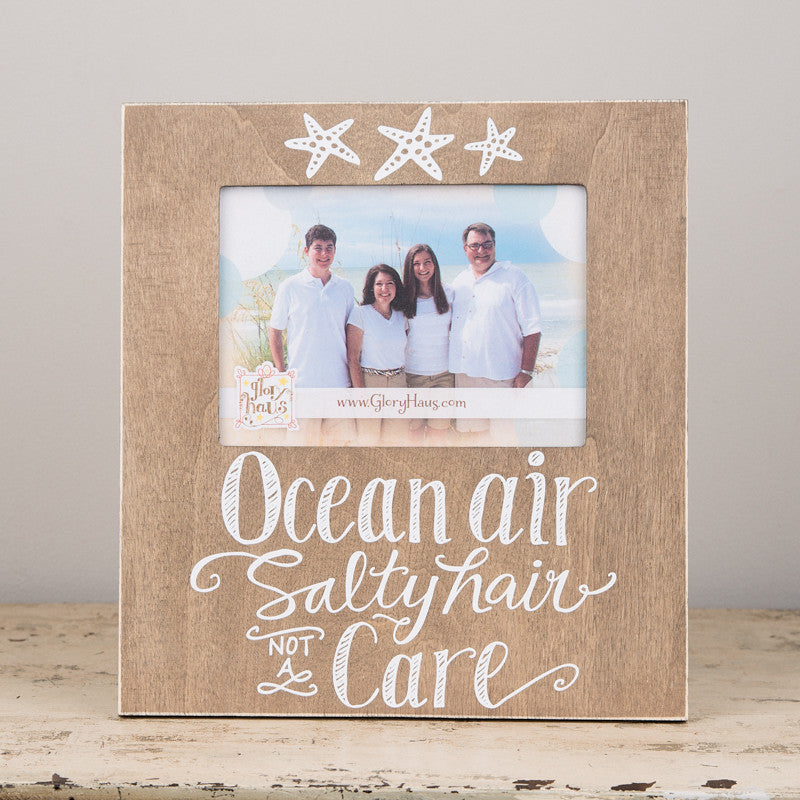 Ocean Air & Salty Hair Frame