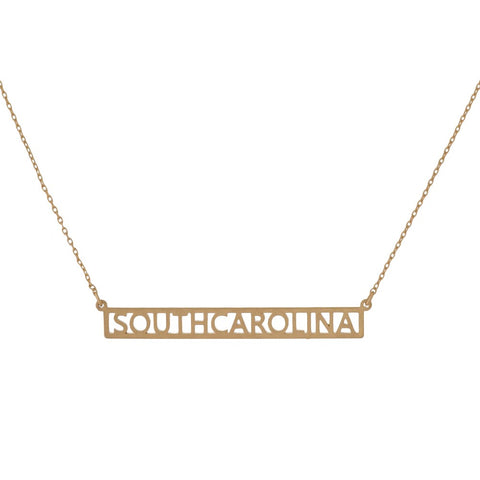 South Carolina Necklace (cutout)