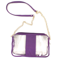Sidelines Clear Crossbody