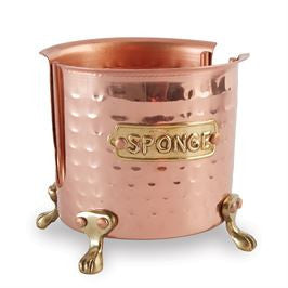Copper Sponge Caddy