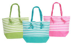 Fringed Handle Tote (3 Colors)