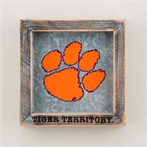 Clemson Tiger Territory Logo Table Top