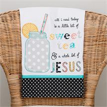 Sweet Tea and Jesus Towel