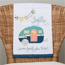 Together Is Our Favorite Place Tea Towel