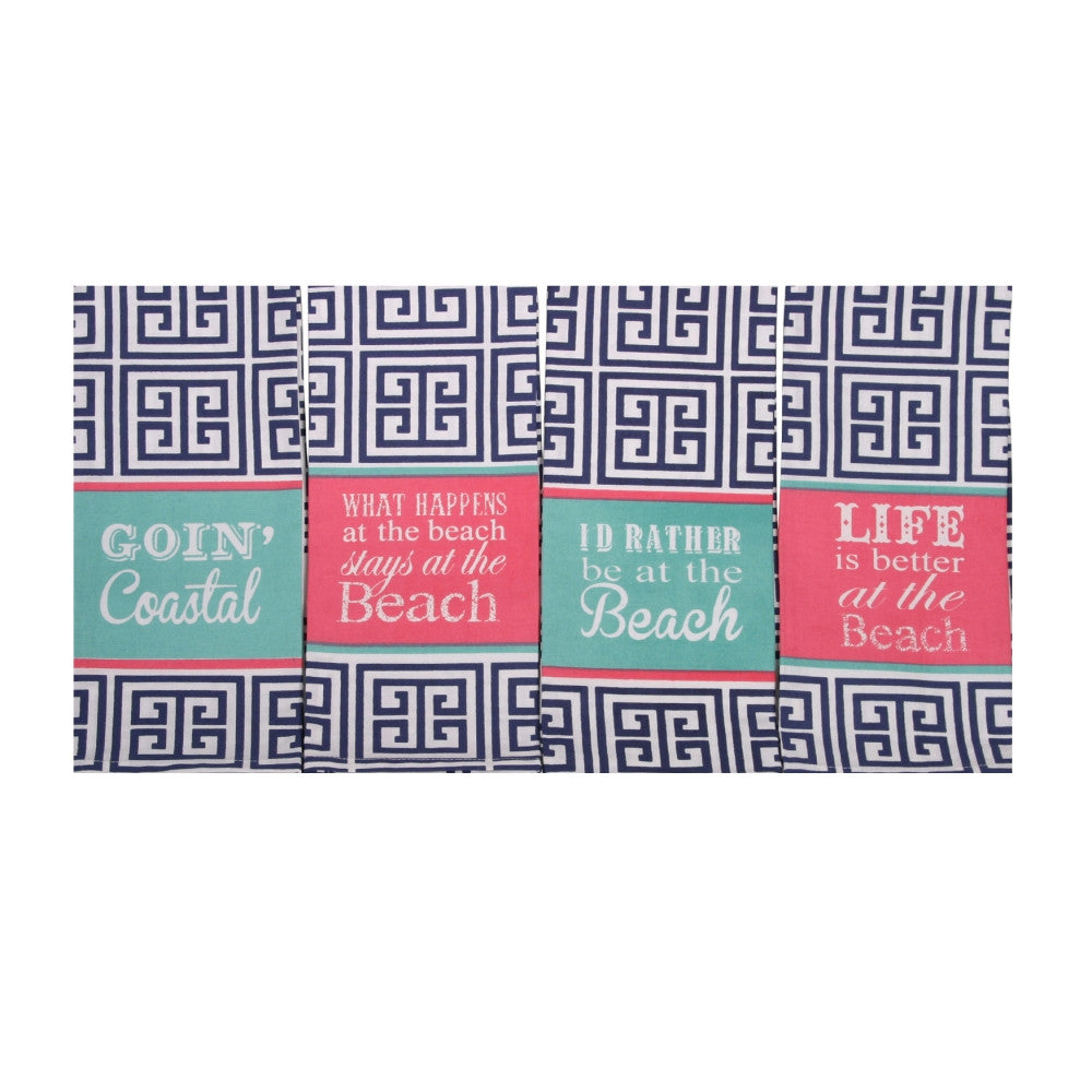Coastal Cheer Hand Towel