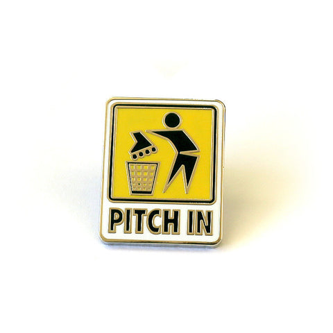 "Pindejo X Filmbot ""Pitch In"" Pins"