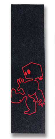 "Filmbot Grip | ""Boneless"" Griptape (Red)"