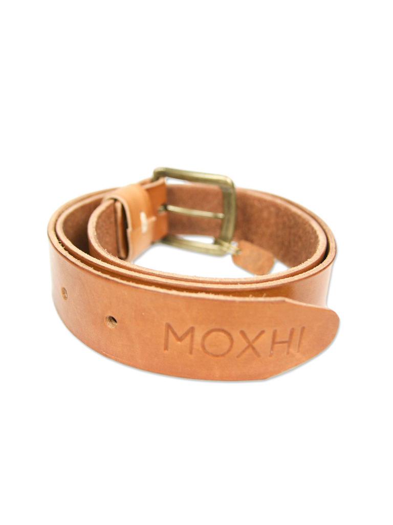Handcrafted leather belt classic