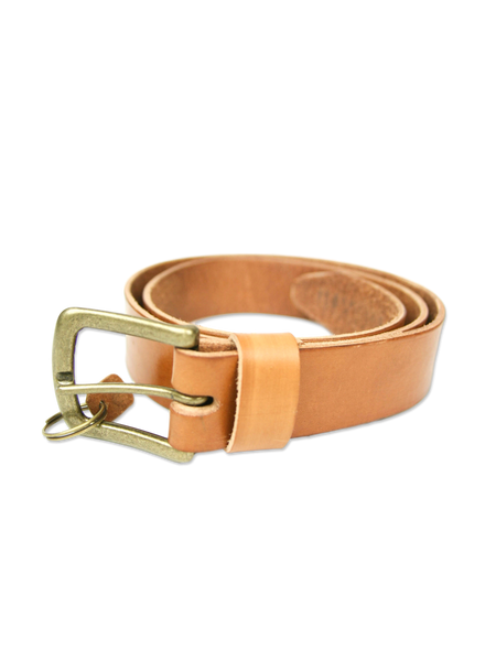 Handmade leather belt classic