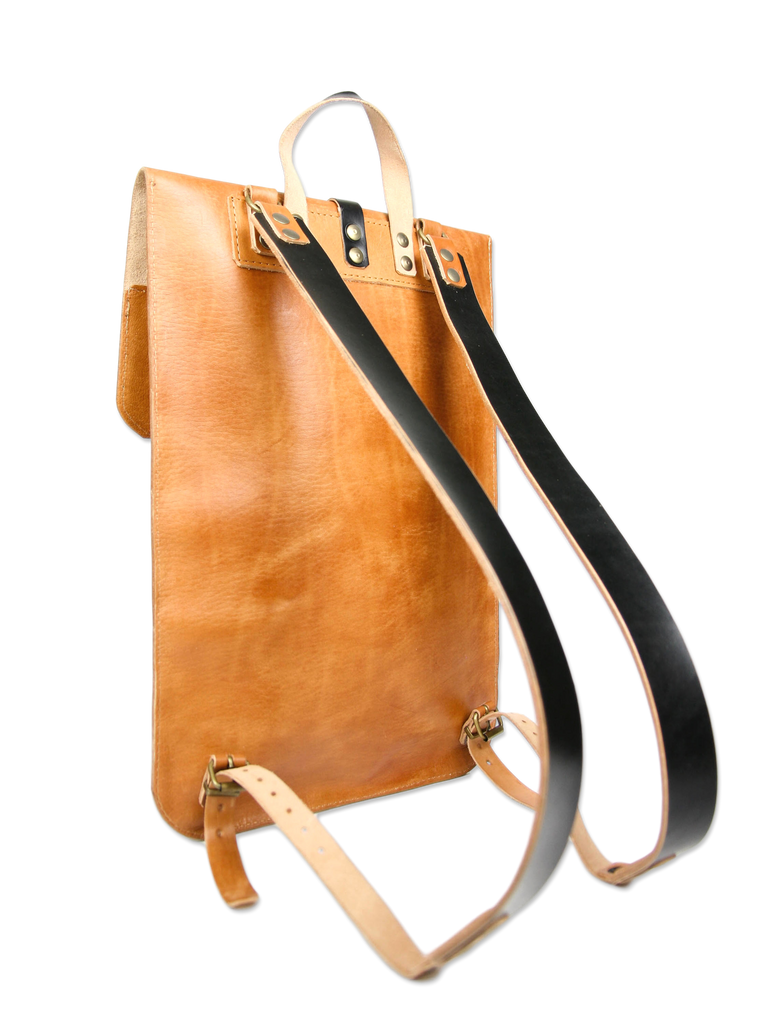 Handcrafted Laptop Backpack Leather