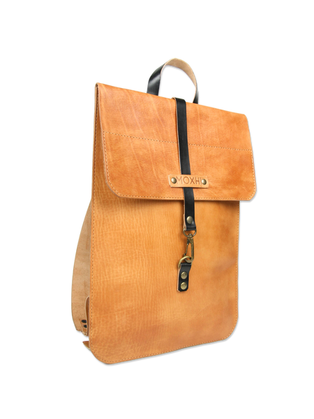 Classic Leather Laptop Backpack
