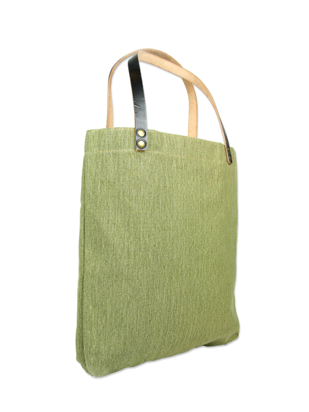 Handcrafted shopper bag sturdy