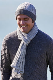 Double Knit Rib Scarf