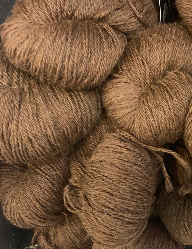 Alpaca Yarn 4ply 100gm - Mocha
