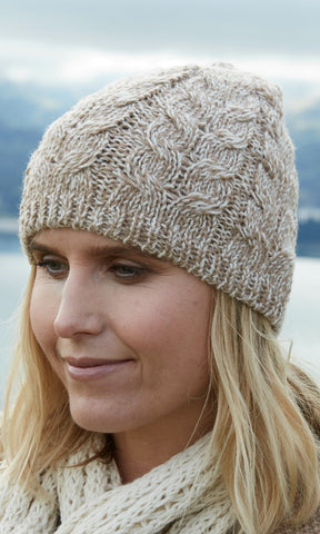 Classic Cable Beanie Mixed