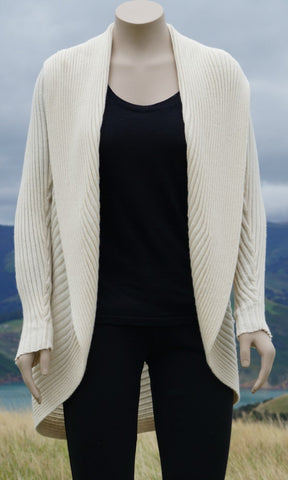 Superfine Rib Cardigan