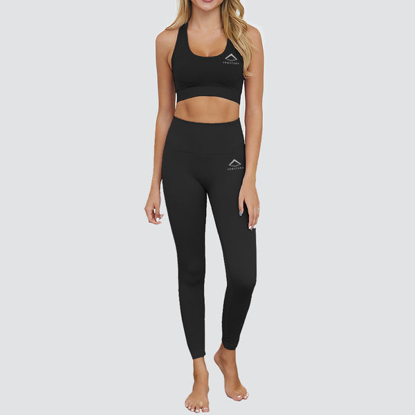 Flex Fit Seamless Racer Back Bra in Black