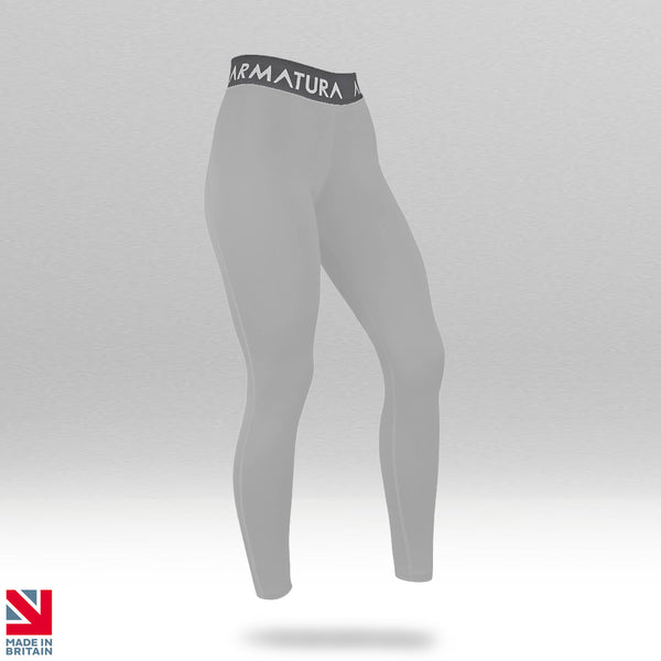 Compression Leggings in Ice Grey
