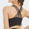 Sculpt Crossback Bra in Black