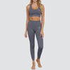 Flex Fit Seamless High Waisted Leggings in Grey