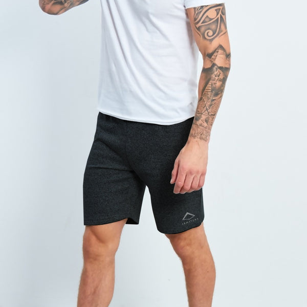 Baller Shorts in Black Marl