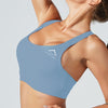 Sculpt Crossback Bra in Sky