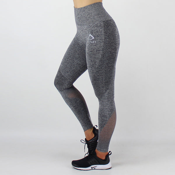 Contour Seamless Leggings in Night Fleck