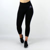 Core High Waisted Seamless Capri in Black