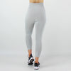 Core High Waisted Seamless Capri in Silver