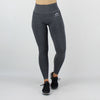 Core High Waisted Seamless Leggings in Charcoal Fleck