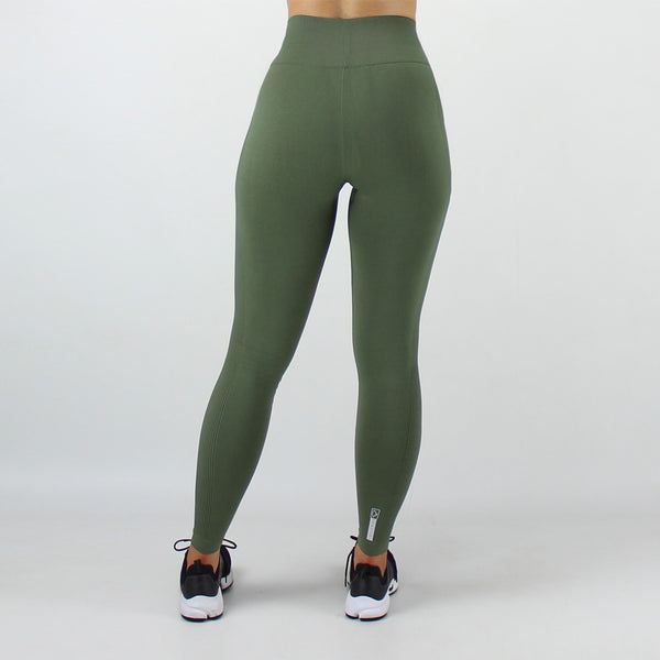 Core High Waisted Seamless Leggings in Khaki