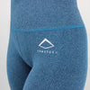 Core High Waisted Seamless Leggings in Ocean Fleck