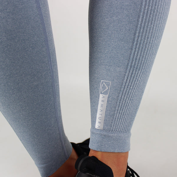 Core High Waisted Seamless Leggings in Powder Blue