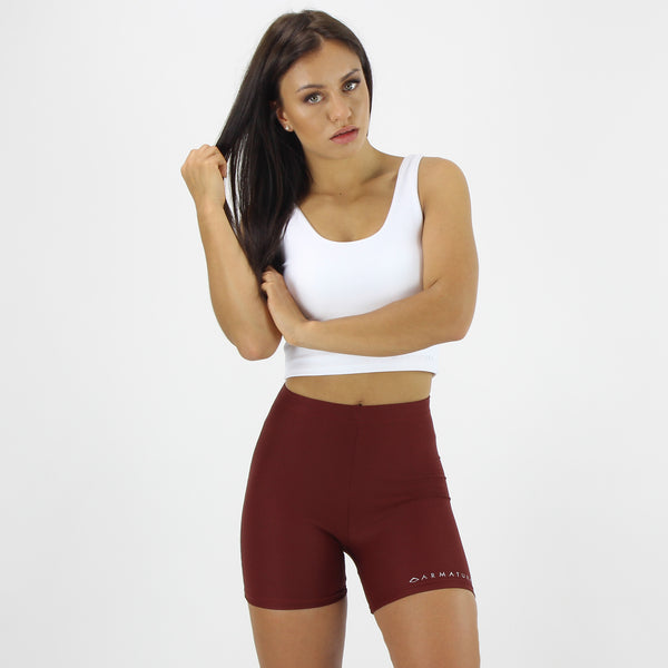 Luxe Fit Shorts in Berry