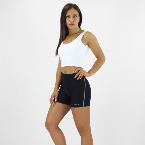 Luxe Fit Shorts in Black