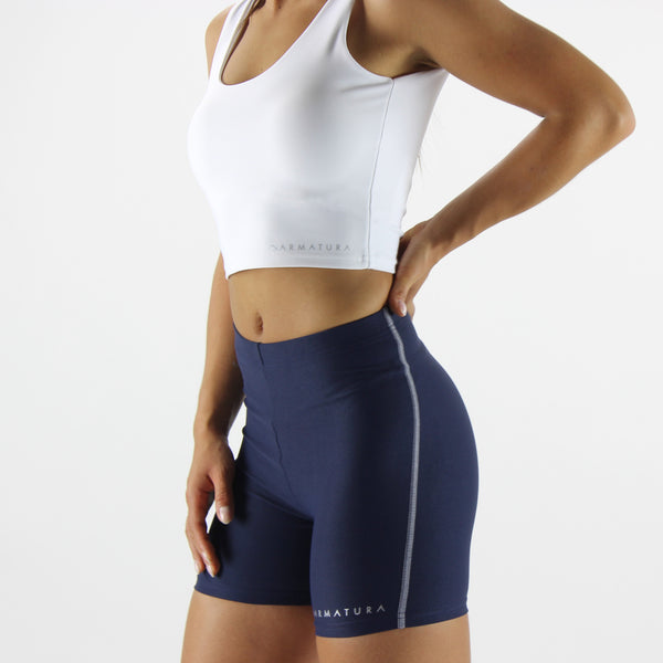 Luxe Fit Shorts in Navy
