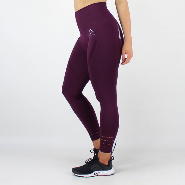 GEO Seamless legging in Berry