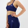 GEO Seamless Bra in Navy
