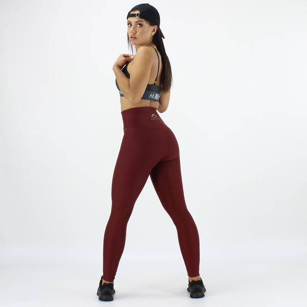 Luxe Ultra High Waisted Leggings in Berry