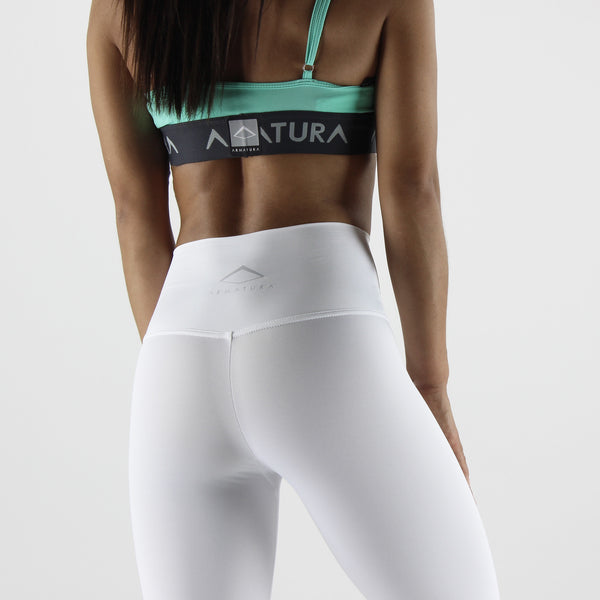 Luxe Ultra High Waisted Leggings in White