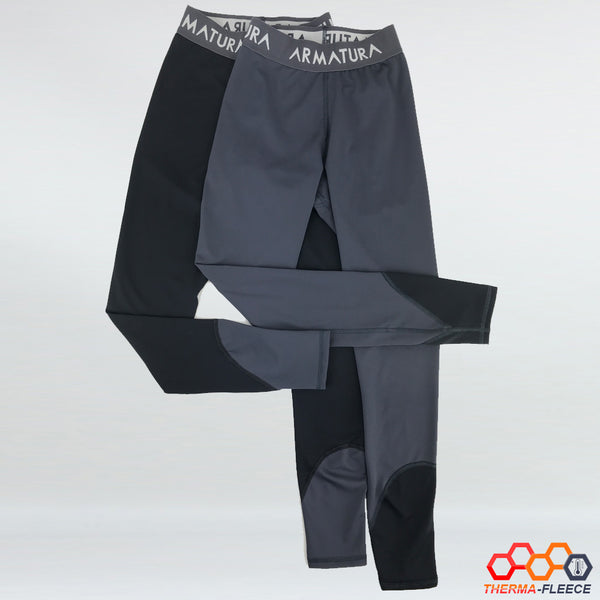Jodhpur Inspired Therma-Fleece Legging in Grey