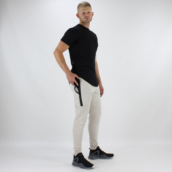 Men's Tech Fit Tapered Joggers in Sand