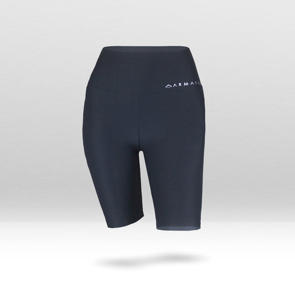 Luxe Ultra High Waisted Bike Shorts in Navy