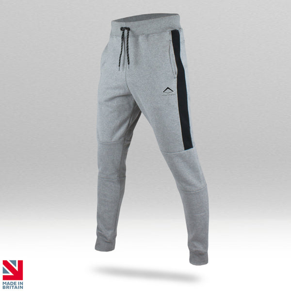 Mens 2018 Muscle-Fit Tapered joggers in Grey